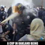 2 arrested, an officer assaulted after Oakland anti-police march