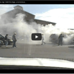 Caught on Video: Selfless Police Officer Pulls Unconscious Man from Burning Vehicle