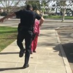 Police officer plays hopscotch with homeless girl in sweet video